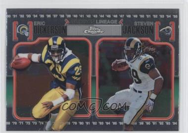 2010 Topps Chrome Gridiron Lineage #CGL-DJ - [Missing]