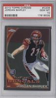 Jordan Shipley (Posed, With Helmet) [PSA 10]