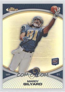 2010 Topps Finest Refractor #32 - Mardy Gilyard
