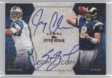2010 Topps Five Star Futures Dual Autographs #DA-2 - Jimmy Clausen, Sam Bradford /5
