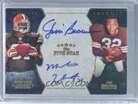 Montario Hardesty, Jim Brown /5