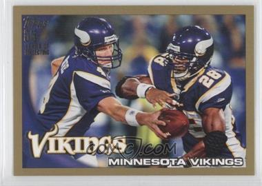 2010 Topps Gold #188 - Minnesota Vikings /2010