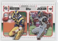 Eric Dickerson, Steven Jackson