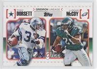 Tony Dorsett, LeSean McCoy