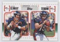 John Elway, Tim Tebow