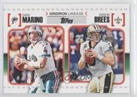 Dan Marino, Drew Brees