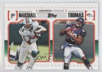 Brandon Marshall, Demaryius Thomas