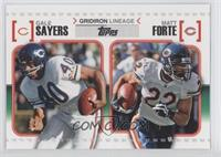 Gale Sayers, Matt Forte