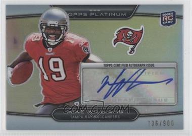 2010 Topps Platinum Autographed Rookie Refractors #23 - Mike Williams /900