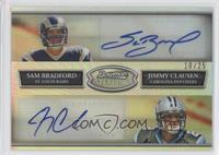 Sam Bradford, Jimmy Clausen /25