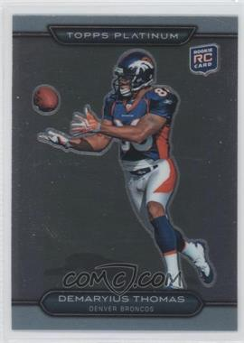 2010 Topps Platinum #101 - Demaryius Thomas