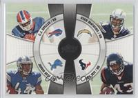Ryan Mathews, Ben Tate, C.J. Spiller, Jahvid Best