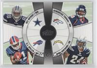 Ryan Mathews, Dez Bryant, C.J. Spiller, Demaryius Thomas