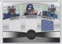 Toby Gerhart, Jahvid Best, Damian Williams /275