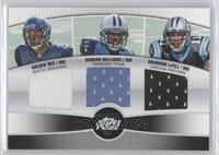 Golden Tate, Damian Williams, Brandon LaFell /1