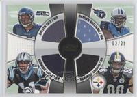 Golden Tate, Brandon LaFell, Damian Williams, Emmanuel Sanders /25