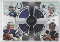 Peyton Manning, Tony Romo, Sam Bradford