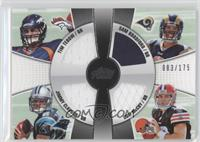 Tim Tebow, Jimmy Clausen, Sam Bradford /175