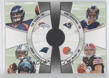 2010 Topps Prime 4th Quarter #4Q-3 - Tim Tebow, Jimmy Clausen, Sam Bradford, Colt McCoy