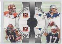 Jordan Shipley, Taylor Price, Carson Palmer, Tom Brady