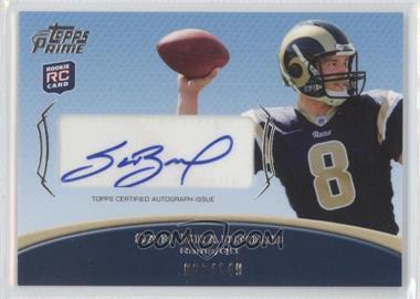 2010 Topps Prime Autographed Rookie #PAR-SB - Sam Bradford