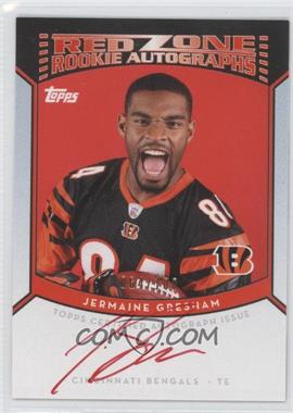 2010 Topps Red Zone Rookie Autographs #RZRA-JG - Jermaine Gresham /100