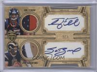 Tim Tebow, Sam Bradford /1