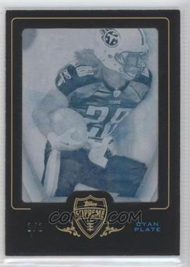 2010 Topps Supreme Framed Printing Plate Cyan #100 - Chris Johnson /1