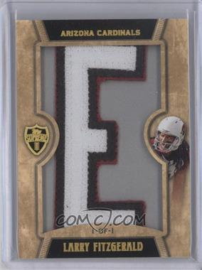 2010 Topps Supreme Letter Patch Relic #SLP-LF - Larry Fitzgerald /1