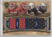 Dexter McCluster, Eric Berry, Jacoby Ford, Rolando McClain /7