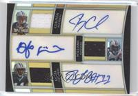 Jimmy Clausen, DeAngelo Williams, Brandon LaFell /9