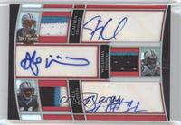 Jimmy Clausen, DeAngelo Williams, Brandon LaFell /3
