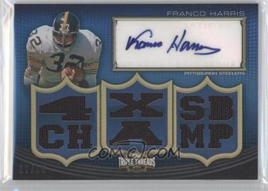 2010 Topps Triple Threads Autographed Relics #TTAR-30 - Franco Harris /18