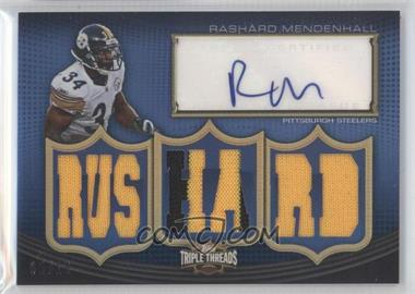 2010 Topps Triple Threads Autographed Relics #TTAR-82 - Rashard Mendenhall /18