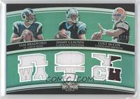 Sam Bradford, Jimmy Clausen, Colt McCoy /18