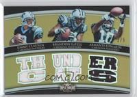 Jimmy Clausen, Brandon LaFell, Armanti Edwards /9