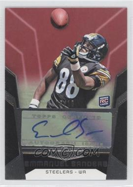 2010 Topps Unrivaled - [Base] - Rookie Autographs Red [Autographed] #146 - Emmanuel Sanders /10
