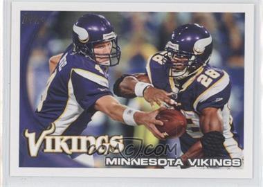 2010 Topps #188 - Minnesota Vikings
