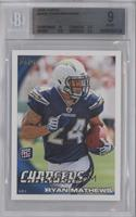 Ryan Mathews (Ball in Right Arm, Cleat Not Showing) [BGS 9]