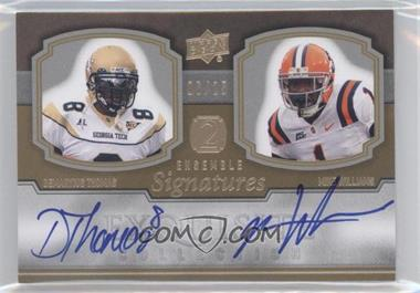 2010 Upper Deck Exquisite Collection - [???] #E2-2 - [Missing] /25
