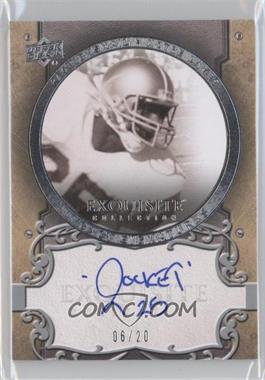 2010 Upper Deck Exquisite Collection - [???] #L1 - Raghib Ismail /20