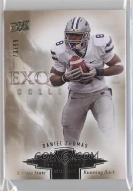2010 Upper Deck Exquisite Collection Exquisite Rookies #ER-DT - Daniel Thomas /99