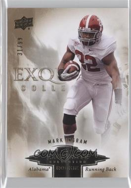 2010 Upper Deck Exquisite Collection Exquisite Rookies #ER-MI - Mark Ingram /99