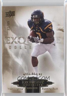 2010 Upper Deck Exquisite Collection Exquisite Rookies #ER-ND - Noel Devine /99