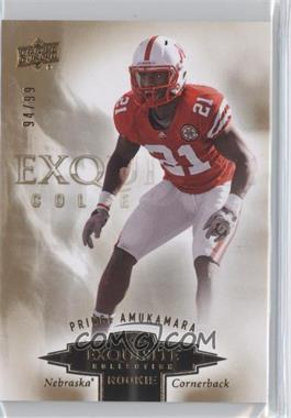 2010 Upper Deck Exquisite Collection Exquisite Rookies #ER-PA - Prince Amukamara /99