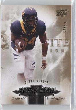 2010 Upper Deck Exquisite Collection Exquisite Rookies #ER-SV - Shane Vereen /99