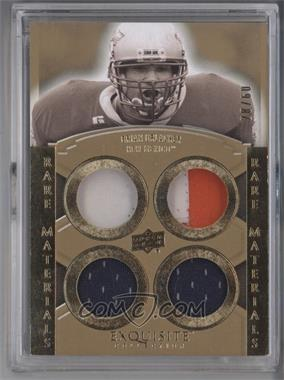 2010 Upper Deck Exquisite Collection Rare Materials #ERM-BU - Brian Urlacher