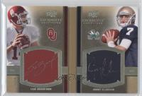 Sam Bradford, Jimmy Clausen /50