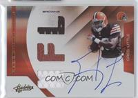 Rookie Premiere Materials NFL Signatures - Greg Little /299