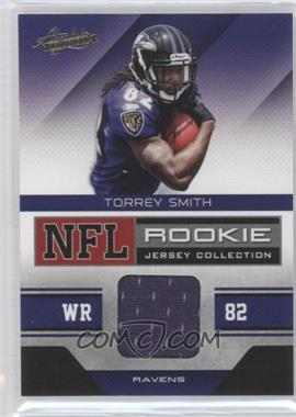 2011 Absolute Memorabilia - NFL Rookie Jersey Collection #34 - Torrey Smith